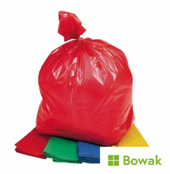 Waste Sacks Colour Coded