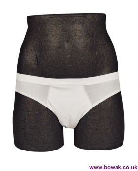 Boys Washable Brief White 125ml