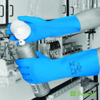 Nitri-Tech Gloves Blue