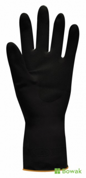 Jet Heavy Rubber Gloves