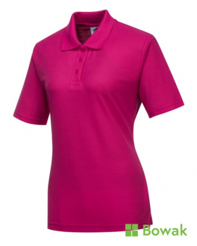 Ladies Polo Shirts Pink