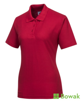 Ladies Polo Shirts Red
