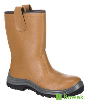 Steelite Rigger Boot S1P Tan