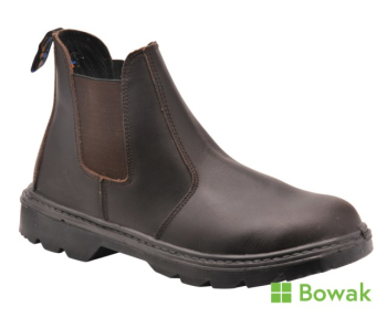 Steelite Dealer Safety Boot Brown