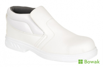 Steelite Slip-On Safety Boot White