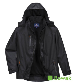 Outcoach Black Rain Jacket