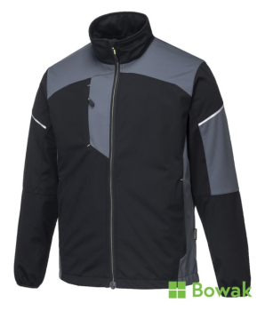 Flex Shell Jacket Black/Grey