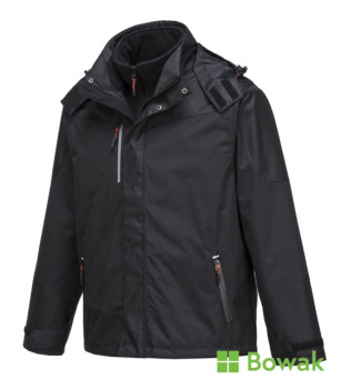 Radial 3 in 1 Jacket Black