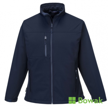 Ladies Soft Shell Jacket Navy
