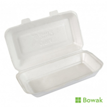 EPS Foam Hinged Food Box Large