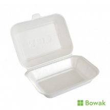 EPS Foam Hinged Food Box Small