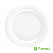 BAGASSE DEGRADABLE PLATES 10inch sugar cane, round