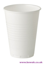 Plastic Vending Cups Tall White 7oz