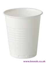 Plastic Vending Cups Squat White 7oz