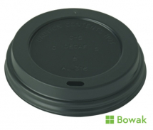 Prism Sip-Thru Domed Lid Black for 12oz