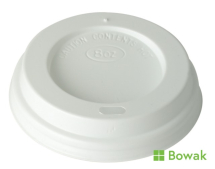 Prism Sip-Thru Domed Lid White for 12oz