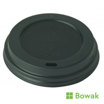 Prism Sip-Thru Domed Lid Black for 7oz Tall