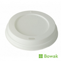 Prism Sip-Thru Domed Lid White for 7oz Squat