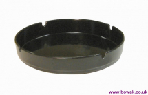 Ashtray Black Melamine 7inch