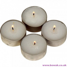 Nightlight Candles 8 Hour white tealights