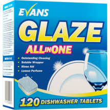 Glaze All-In-One Dishwasher Tablets