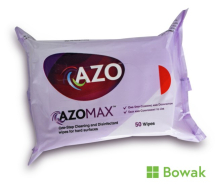 Azomax Cleaning & Disinfectant Wipes 50 pack