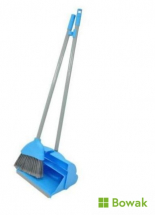 Lobby Dustpan & Brush Blue