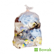 Waste Sacks Clear 18x29x38inch