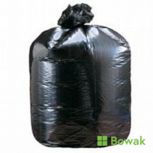 Waste Compactor Sacks Black 20x33x47inch 20kg