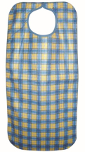 Clothing Protector Heavy Duty Yellow Check