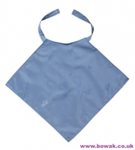 Napkin Style Clothing Protector Blue