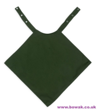 Napkin Style Clothing Protector Green