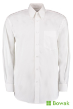 Oxford Shirt Long Sleeve White 14.5inch