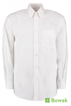 Oxford Shirt Long Sleeve White 15inch