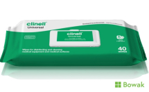 Clinell Sanitising Wipes 40 Pack