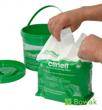 Clinell Sanitising Wipes Tub 225 Refill