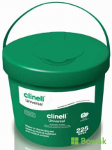 Clinell Universal Wipes 225 Tub