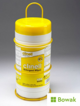 Clinell Wipes Dispenser Yellow Metal