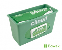 Clinell Wipes Dispenser Green Plastic