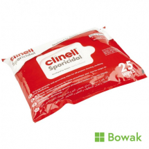 Clinell Sporicidal Wipes 25