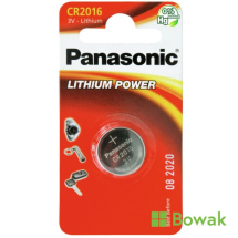 Lithium Button Battery CR2016