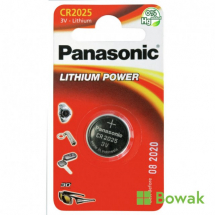 Lithium Button Battery CR2025