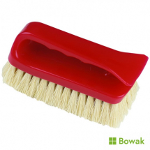 Carpet Hand Shampoo Brush Red