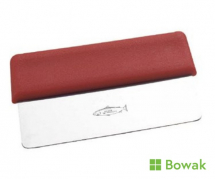 Stainless Steel Hand Scraper 15cm Red