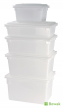 Lid for Food Box 305mm White