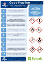 COSHH Good Practice 10 Safety Tips