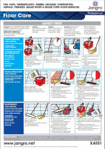 Jangro Floor Care Guidance Chart
