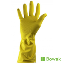 Household Gloves Yellow Large Everyday